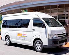 石和温泉駅まで送迎バス運行 宿泊施設 スパランドホテル内藤